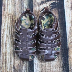 🎀3/$30 George Brown Caged Sandals Size 6